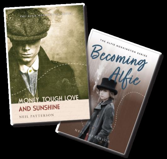 Author Neil Pattersons Alfie Norrington series of books